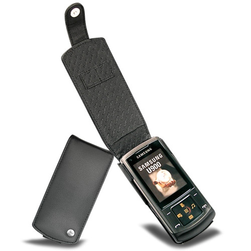 Samsung SGH-U900 Soul  leather case
