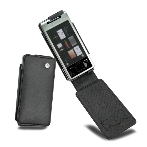 Housse cuir Sony Ericsson Xperia X1
