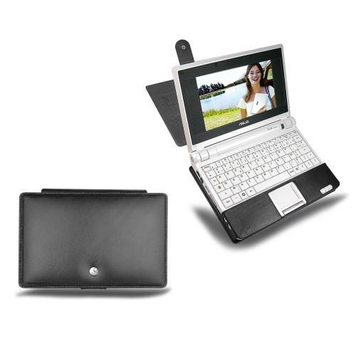 Housse cuir Asus Eee PC 700  - Noir ( Nappa - Black )