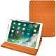"Housse cuir Apple iPad Pro 10,5"" - Orange - Couture ( Nappa - Pantone 1495U )"