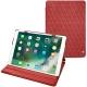 """Housse cuir Apple iPad Pro 10,5"""" - Cerise vintage - Couture"""