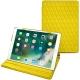 "Housse cuir Apple iPad Pro 10,5"" - Jaune fluo - Couture"
