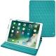 """Housse cuir Apple iPad Pro 10,5"""" - Bleu fluo - Couture"""