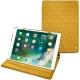"""Apple iPad Pro 10,5"""" leather case - Jaune soulèu - Couture"""