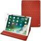 """Lederschutzhülle Apple iPad Pro 10,5"""""""" - Arange clouquié - Couture"""