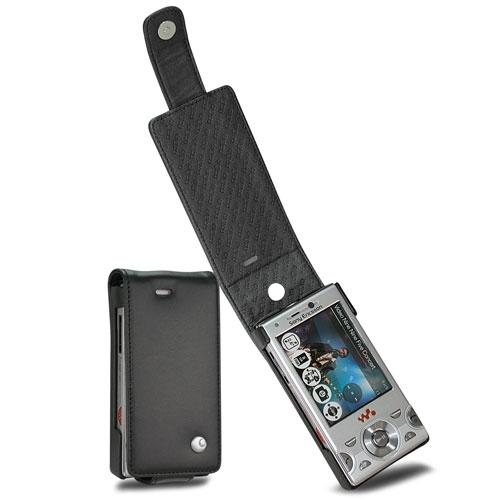 Sony Ericsson W995 Walkman  leather case