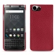 Blackberry Keyone leather cover - Rouge passion