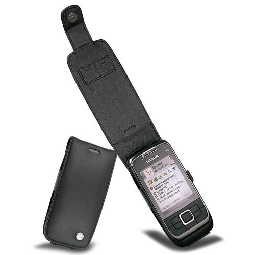 Nokia E66  leather case