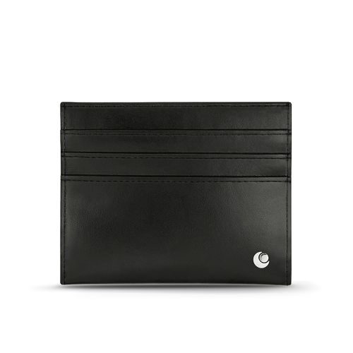 Leather card holder - Anti-RFID / NFC