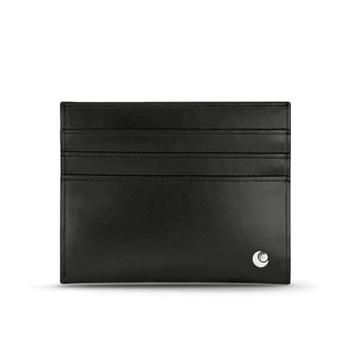 Porta-carte in pelle - Anti-RFID / NFC