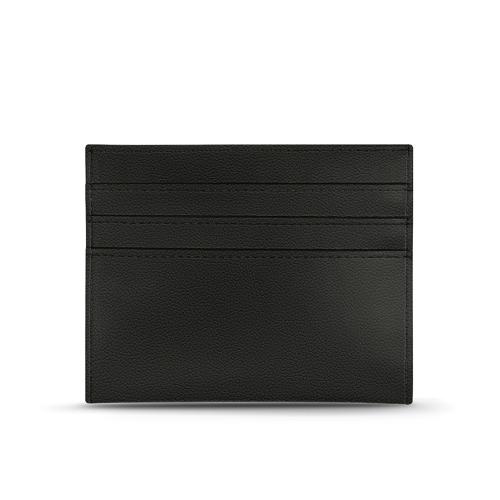 Leather card holder - Griffe 1 - Noir PU