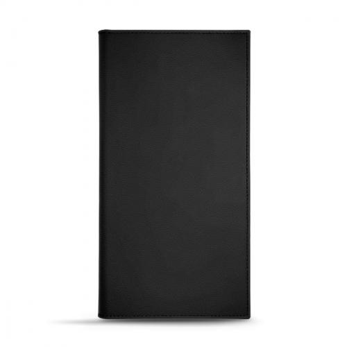 Porte factures - 14 x 10 cm - Noir PU