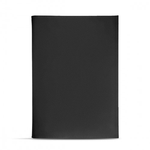 Room service menu holder A5 - Griffe 1 - Noir PU