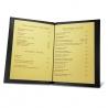Porte menu room service A4
