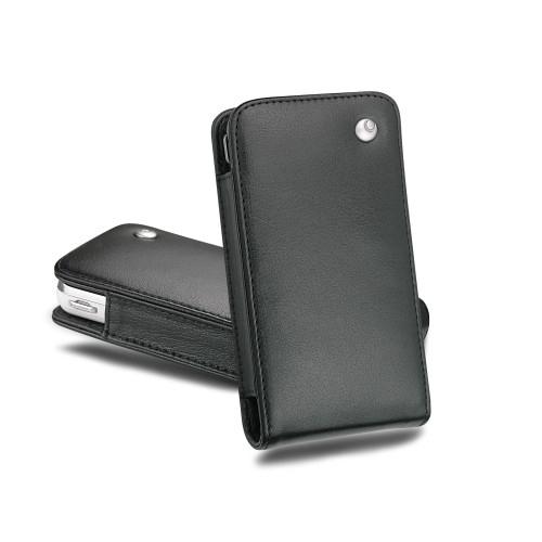 Housse cuir Samsung SGH-i900 Omnia - Noir ( Nappa - Black )
