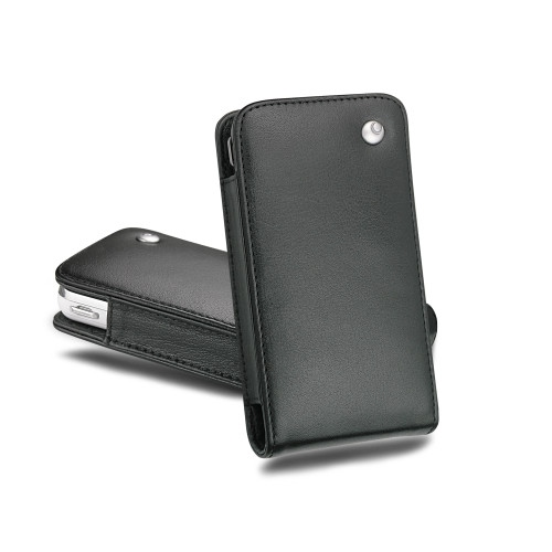 Samsung SGH-i900 Omnia leather case - Noir ( Nappa - Black )