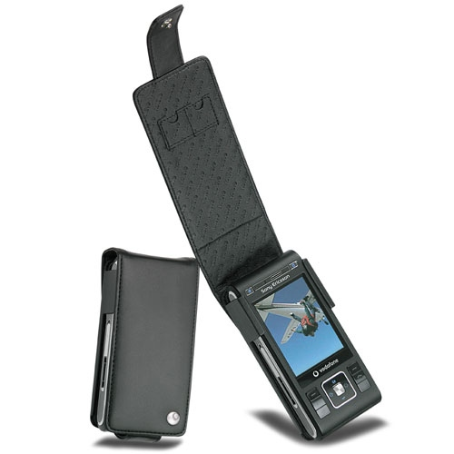Sony Ericsson C905  leather case
