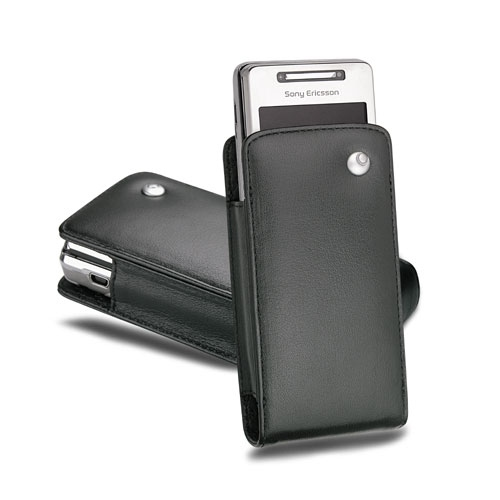 Sony Ericsson Xperia X1 leather pouch