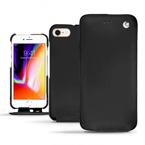 Custodia in pelle Apple iPhone 8 - Noir ( Nappa - Black )