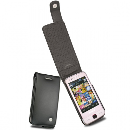 Samsung M8910 Pixon 12  leather case