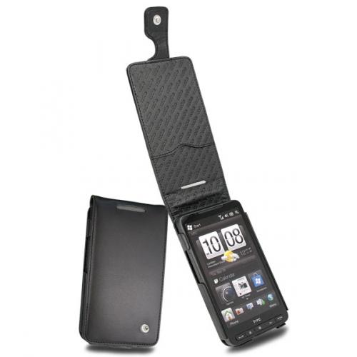 Housse cuir HTC Leo - HTC Touch HD2