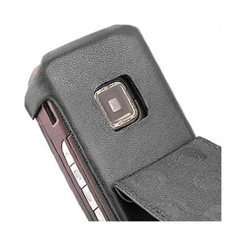 Housse cuir Nokia E65