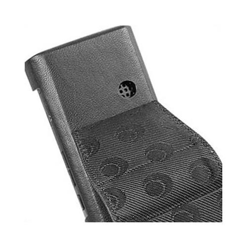 LG KE800 - Chocolate Platinum  leather case