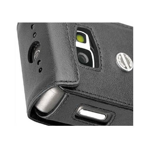 Nokia N77  leather case
