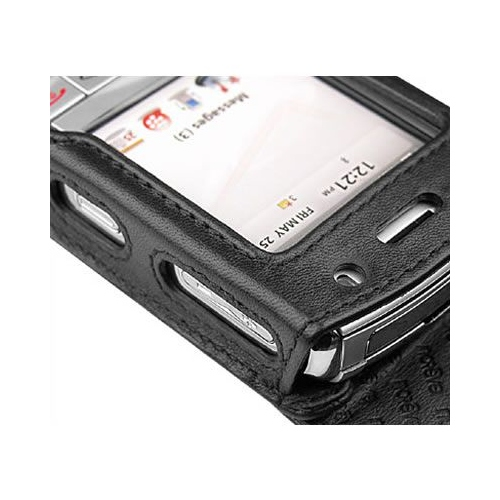 BlackBerry Pearl 8110 - 8120 - 8130  leather case