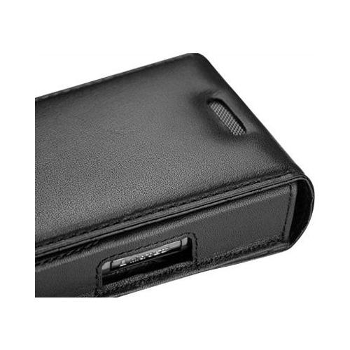 Housse cuir Samsung SGH-i617 - Blackjack 2