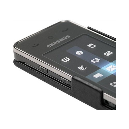 Samsung SGH-F490  leather case