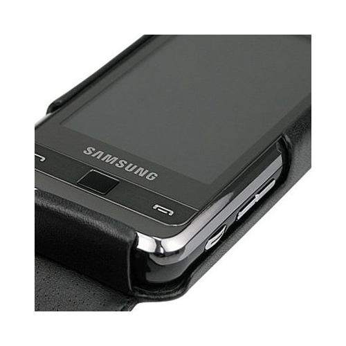 Samsung SGH-i900 Omnia  leather case
