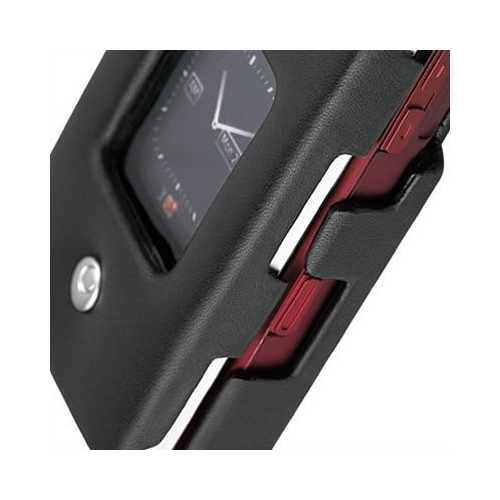 BlackBerry Pearl Flip 8210 - 8220 - 8230  leather case