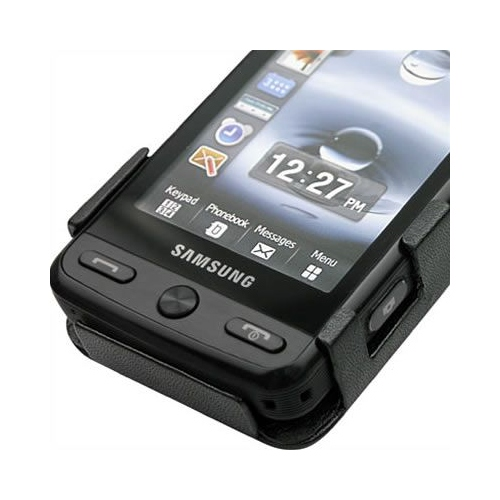 Housse cuir Samsung Player Pixon M8800