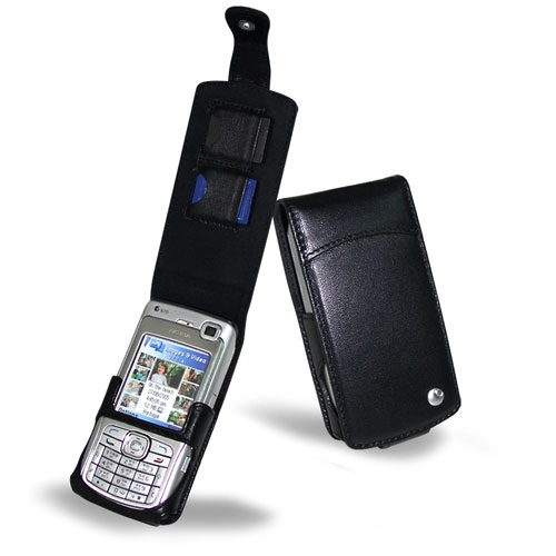 Nokia N70  leather case
