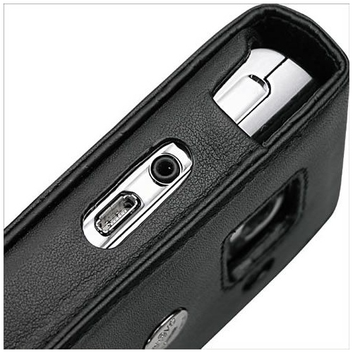 HP iPAQ Voice Messenger  leather case