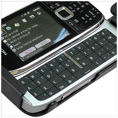 Housse cuir Nokia E75
