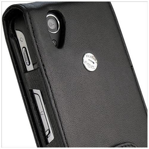 Capa em pele Acer Tempo F900