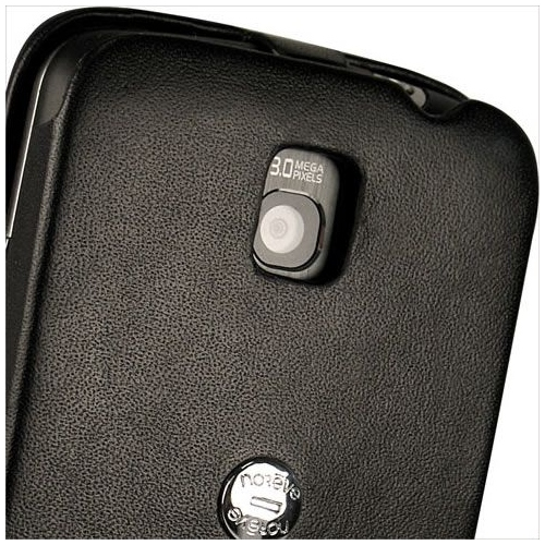 LG P500 Optimus One  leather case