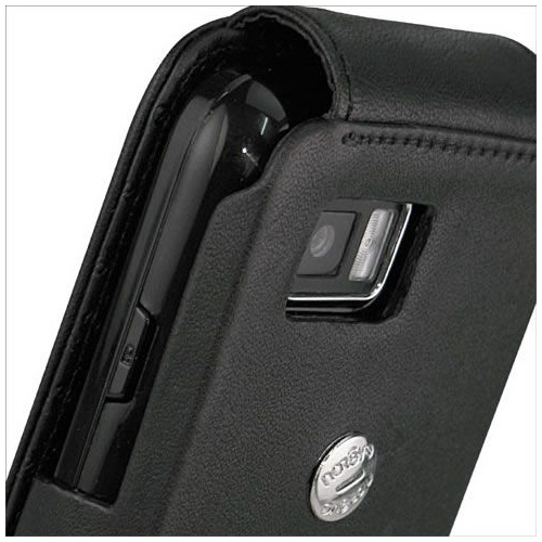 Samsung GT-S5600 Player Star - Preston  leather case