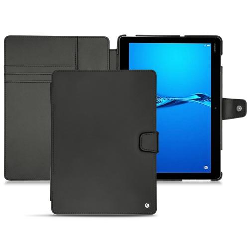Huawei MediaPad M3 Lite 10 leather case - Noir ( Nappa - Black )