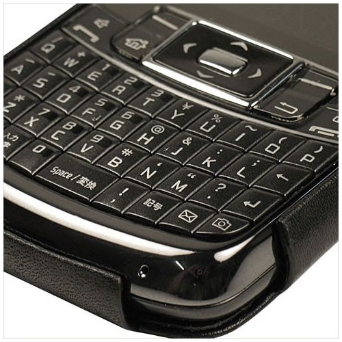 Lederschutzhülle Samsung Omnia Pro B7320