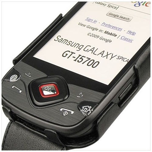 Samsung GT-i5700 Galaxy Spica  leather case