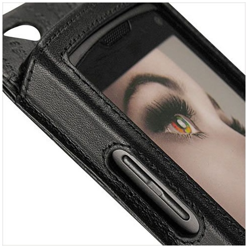 Samsung GT-S8500 Wave  leather case