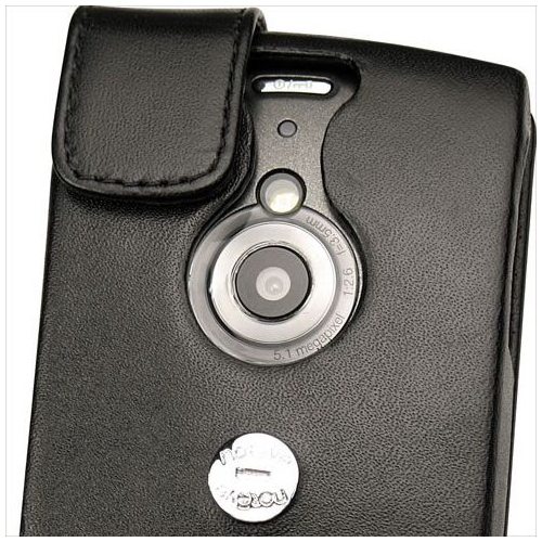 Sony Ericsson Vivaz Pro  leather case