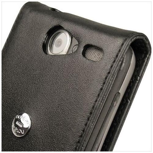 Housse cuir HTC Desire - HTC Bravo