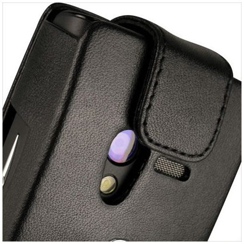 Sony Ericsson Xperia X10 mini  leather case