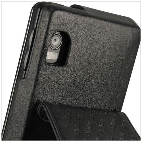 Motorola Milestone 2 - Droid 2  leather case