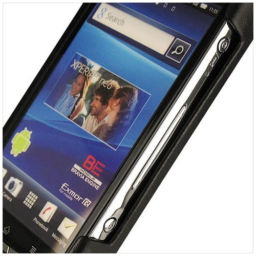 Housse cuir Sony Ericsson Xperia Neo - Kyno