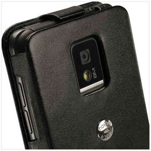 LG Optimus 2X  leather case